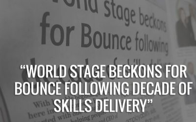 World stage beckons for Bounce following decade of skills delivery