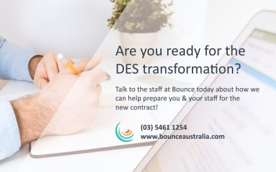 Are you ready for the DES transformation?